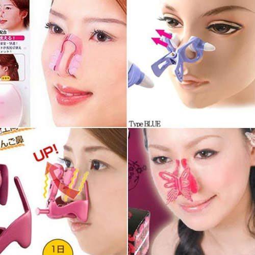 cách dùng kẹp nâng mũi