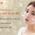 Sửa mũi Sline 4D – Giải pháp cho dáng mũi đẹp hoàn hảo