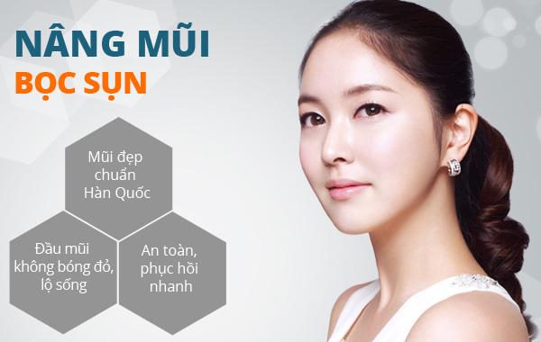 Phẫu thuật nâng mũi bọc sụn Hàn Quốc giá bao nhiêu tiền?