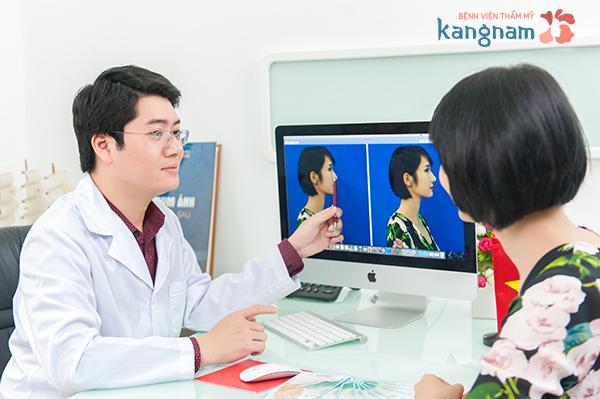 Xem trước kết quả nâng mũi bằng phần mềm 3D